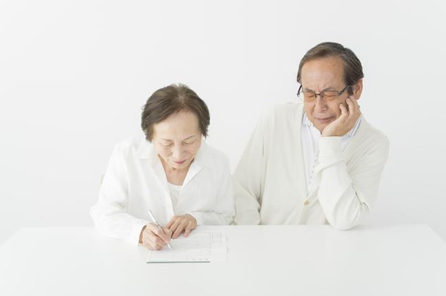 熟年離婚を考えている人は要注意...
